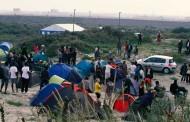 بالصور: فرنسا تخلي جزء من مخيم كاليه العشوائي