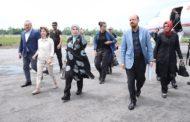 عقيلة الرئيس التركي أمينة أردوغان تصل بنغلاديش
