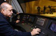 أردوغان يفتتح القسم الثاني من خط مترو