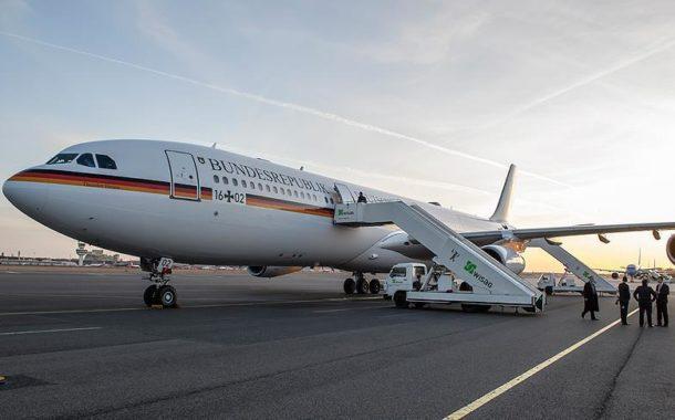 ألمانيا تحقق في شبهة جنائية وراء تعطل طائرة ميركل