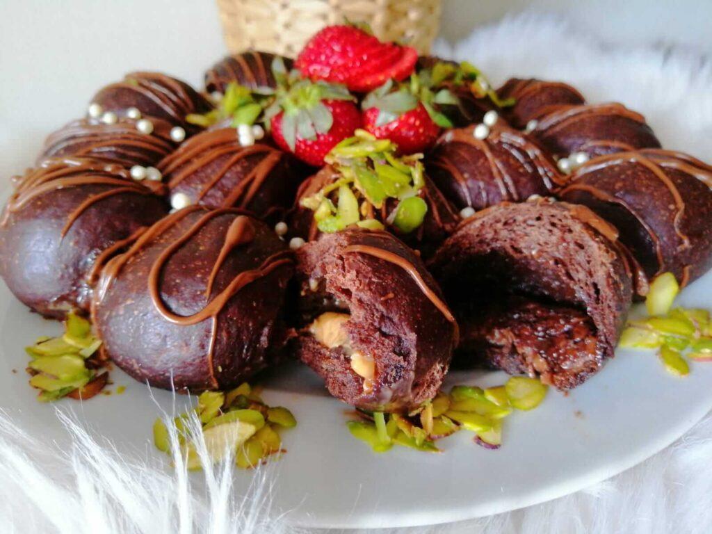خلية النحل بالشوكولاتة