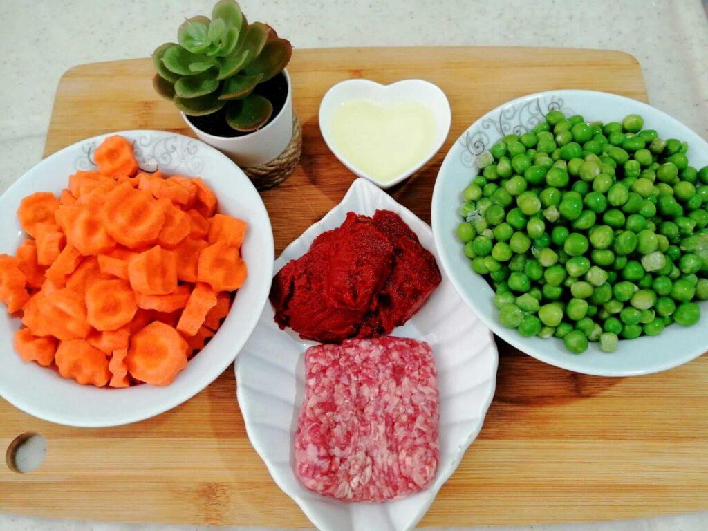 مكونات الطبخة