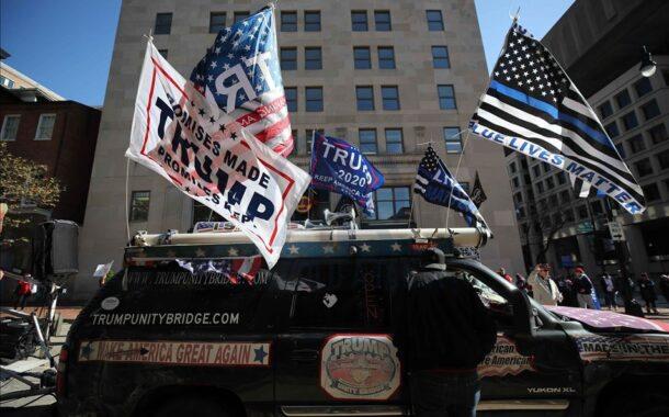 مسيرة مؤيدة لترامب في واشنطن