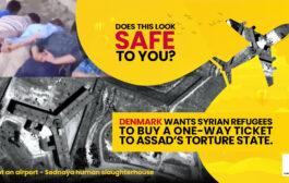 """حملة """"سوريا ليست آمنة لإعادة اللاجئين"""" تواجه سياسة الدنمارك"""